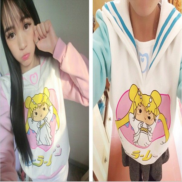 New Free Shipping Anime Sailor Moon Cosplay Costumes Navy Collar Cotton Sweater -in Costumes from Apparel & Accessories on Aliexpress.com | Alibaba Group