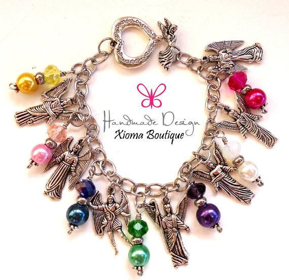 7 Archangels Bracelet/ Protection Bracelet / by XiomaBoutique