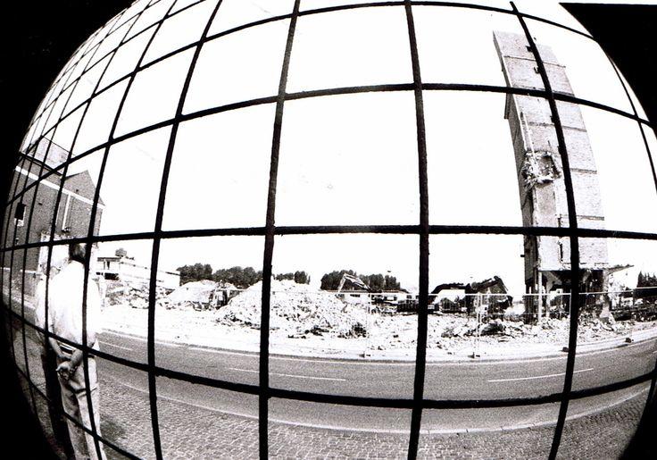 Hamm Westfalen:isenbeck Abriß 1990.Foto:Fausto Ciotti