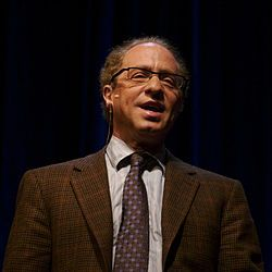:: author, scientist, inventor and futurist ::    Luv his  transhumanism attitude