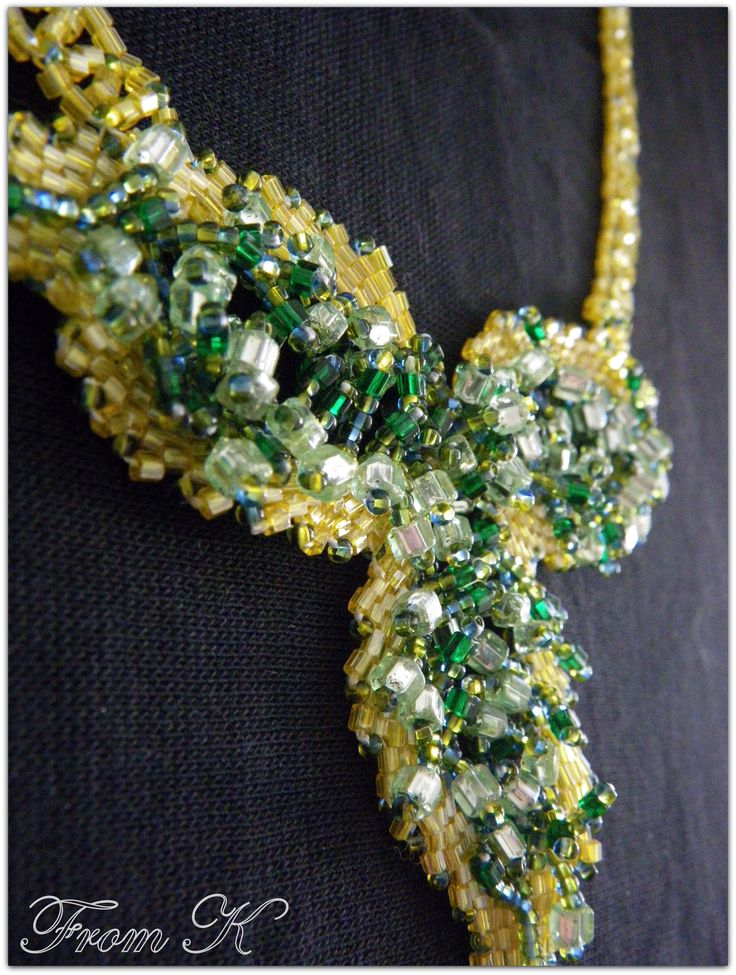 """Details for """"Pretty leaves"""" necklace. For more, visit my facebook page https://www.facebook.com/media/set/?set=a.255899171103055.81635.246629745363331&type=3"""