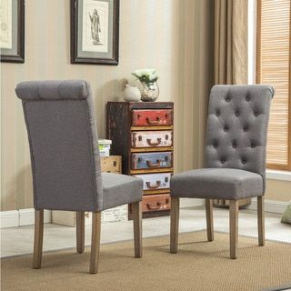 25 Best Ideas About Tufted Dining Chairs On Pinterest