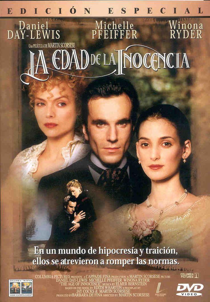 La edad de la inocencia (1993) EEUU. Dir: Martin Scorsese. Drama. Romance. S. XIX - DVD CINE 2243