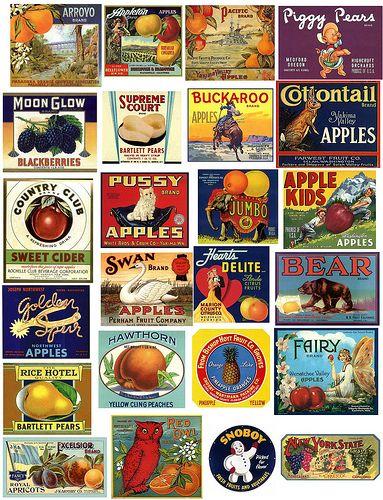 Fruit Labels | Flickr: Intercambio de fotos