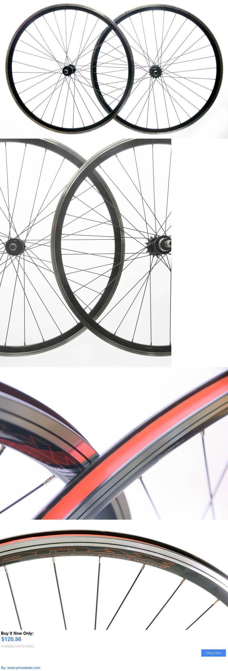 bicycle parts: Aeromax Track 700C Single Speed Freewheel / Fixed Gear Wheelset Bike Black New BUY IT NOW ONLY: $120.96 #priceabatebicycleparts OR #priceabate