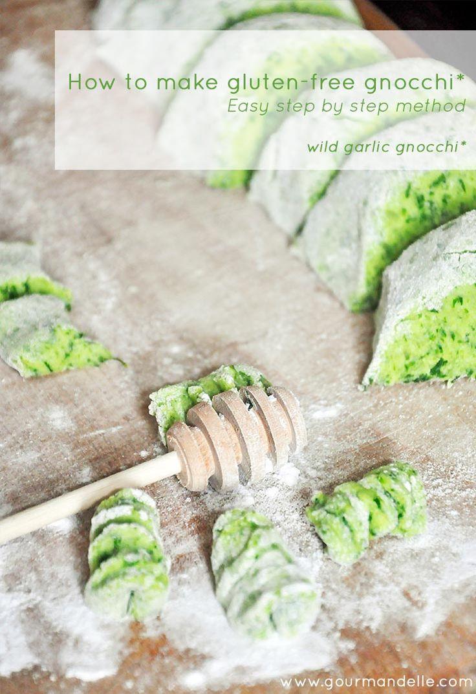 How to make #vegan #glutenfree #gnocchi step by step by @Ruxandra   Gourmandelle.com