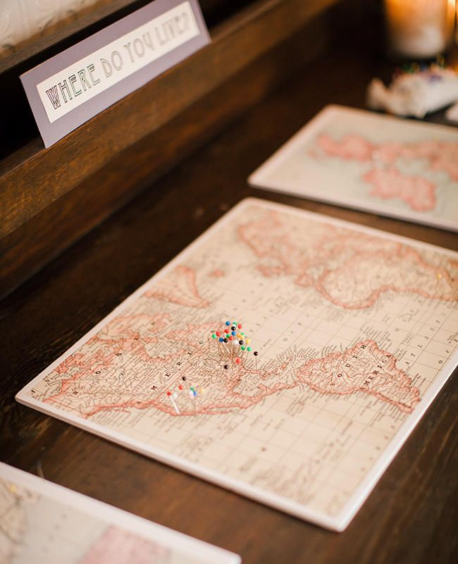 10 Super Cute Ideas for a Travel-Themed Wedding | Photo by: Cly Creation | TheKnot.com