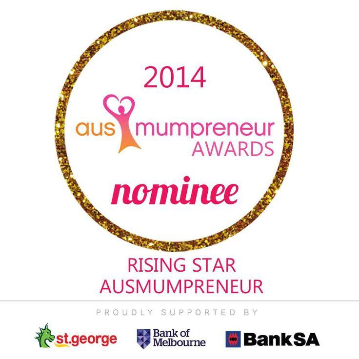 Jo (& Safe-T-Hand) has been nominated for the Rising Star AusMumpreneur Award with AusMumpreneur Network's Awards 2014!! More information here: http://ausmumpreneur.com