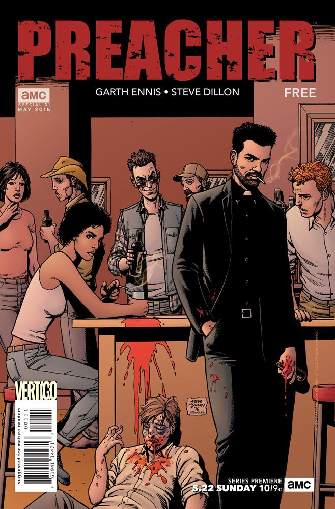 Comics artist Steve Dillon has enjoyed a long and storied career, stretching back to his much-beloved work on U.K. sci-fi title, 2000AD.
