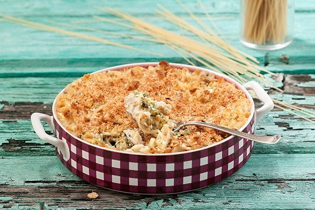 Καρμπονάρα φούρνου με κοτόπουλο-featured_image