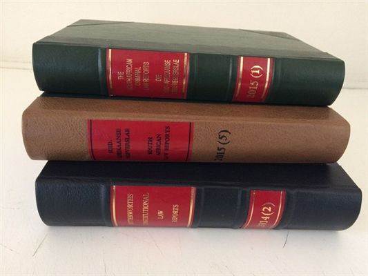 Quality South African Law Report Binding