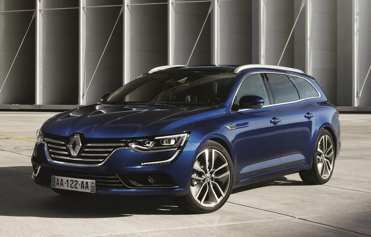 Renault Talisman Estate officially presented