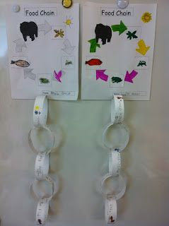 Here's a terrific post on teaching about food chains to ESOL students.
