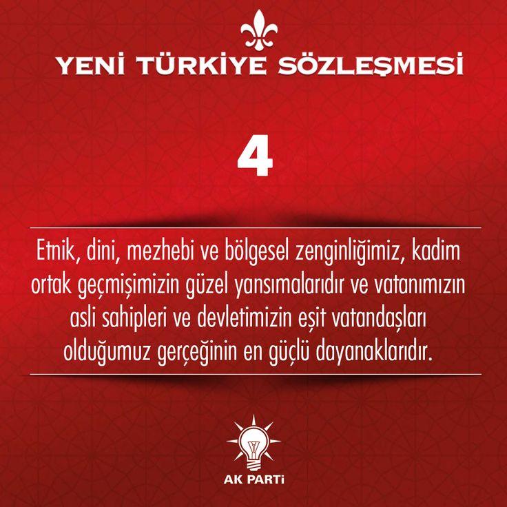 4.Madde, #YeniTürkiyeSözleşmesi