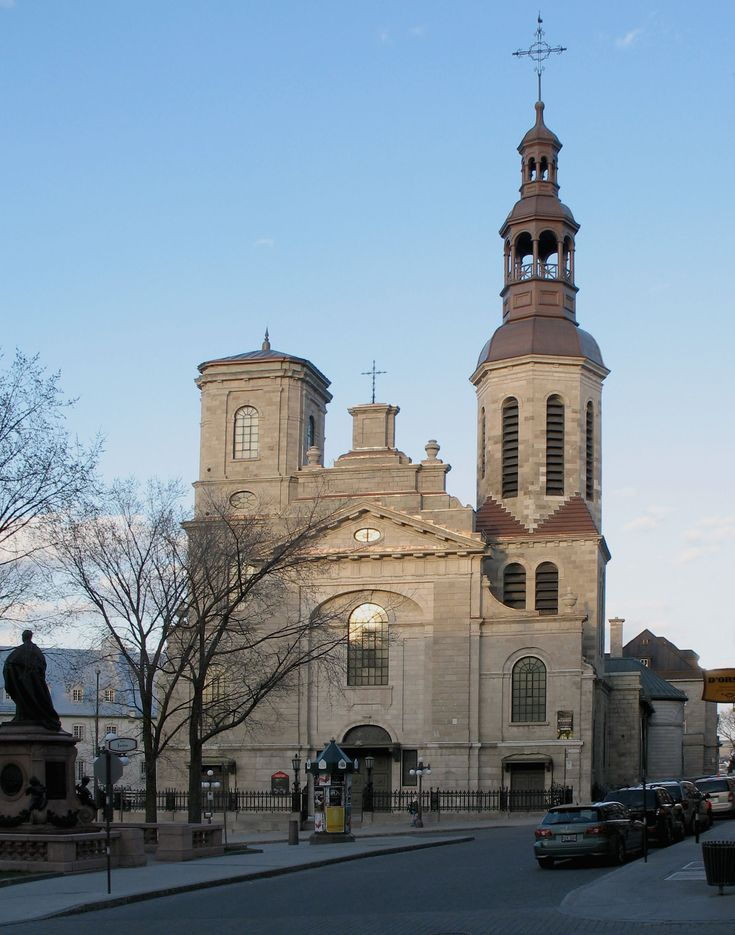 The Cathedral-Basilica of Notre-Dame de Québec, located at 16, rue de Buade, Quebec City, Quebec, is the primatial church of Canada and the seat of the Roman Catholic Archdiocese of Quebec.