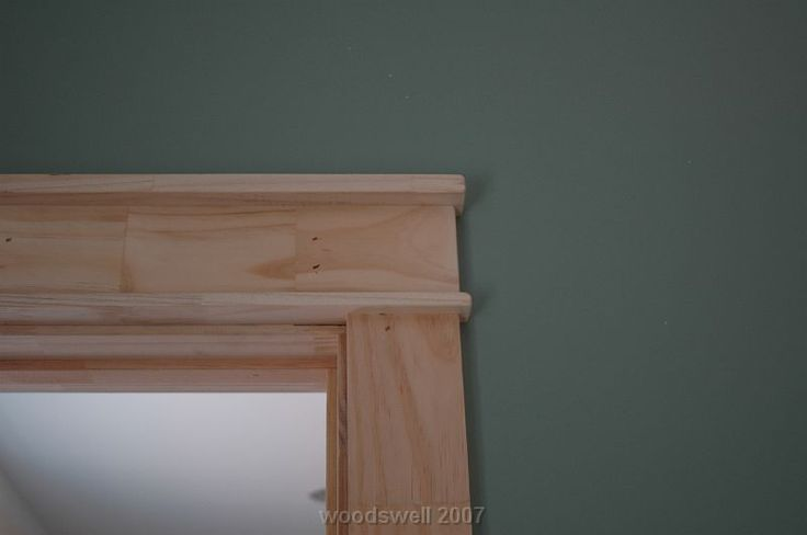 Craftsman style window trim door frames details around for Advanced molding decoration