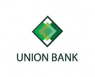 Union Bank Logo Design #logo #union #bank #green