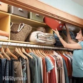12 simple storage solutions for small spaces closet organization the doors and piles - Small closet space solutions minimalist ...