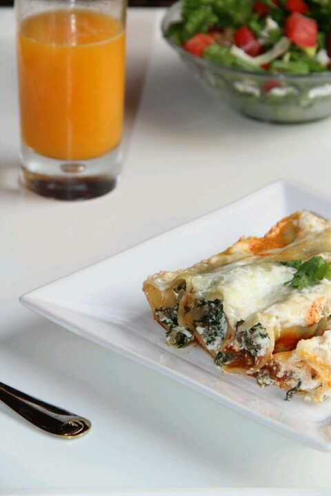 Spinach goat cheese cannelloni home pinterest for Afghan cuisine sugar land
