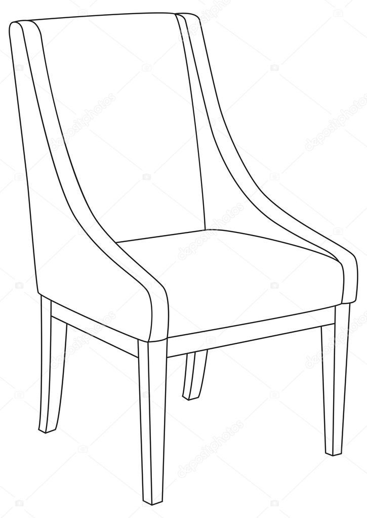 130 Reference Of Chair Illustration Outline In 2020 Chair Plastic Chair Design Ceiling Lights Living Room