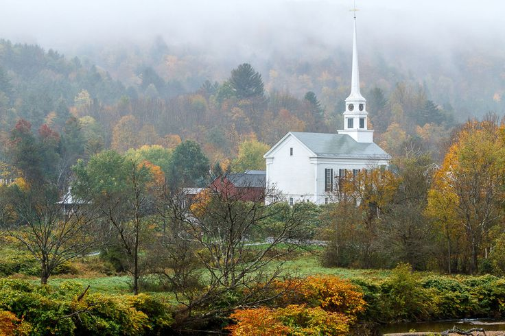 Stowe, Vermont  - CountryLiving.com