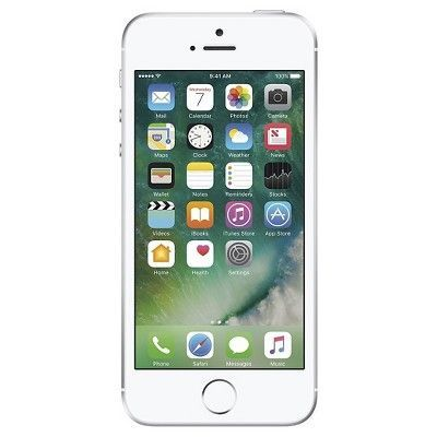 Apple iPhone SE 16GB Gsm Unlocked Cell Phone - Silver