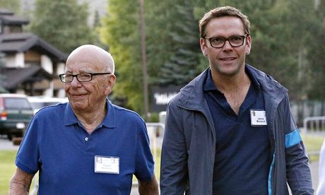 James Murdoch back in public at father's side in moves for Time ...