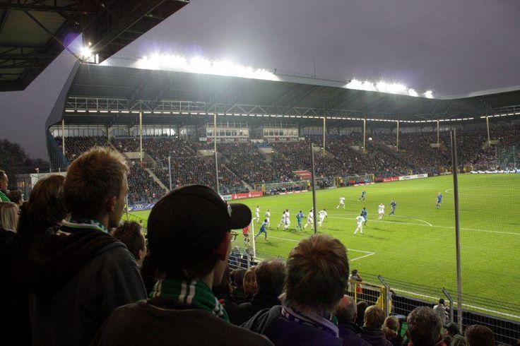 Carl-Benz-Stadion in Mannheim, Baden-Württemberg