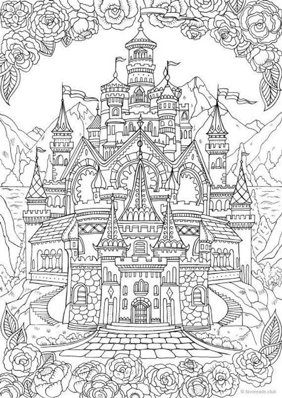 Pin On Adult Coloring Stress Buster Designs