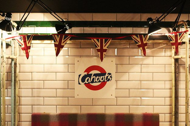 Why not take a look around? | There Is A Secret Underground Bar In London That Contains An Entire Tube Carriage