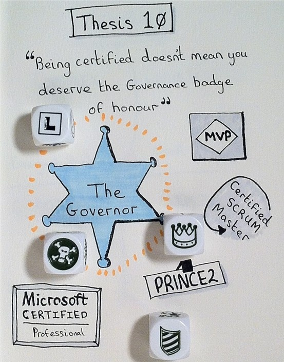 Certification won't help you govern SharePoint!