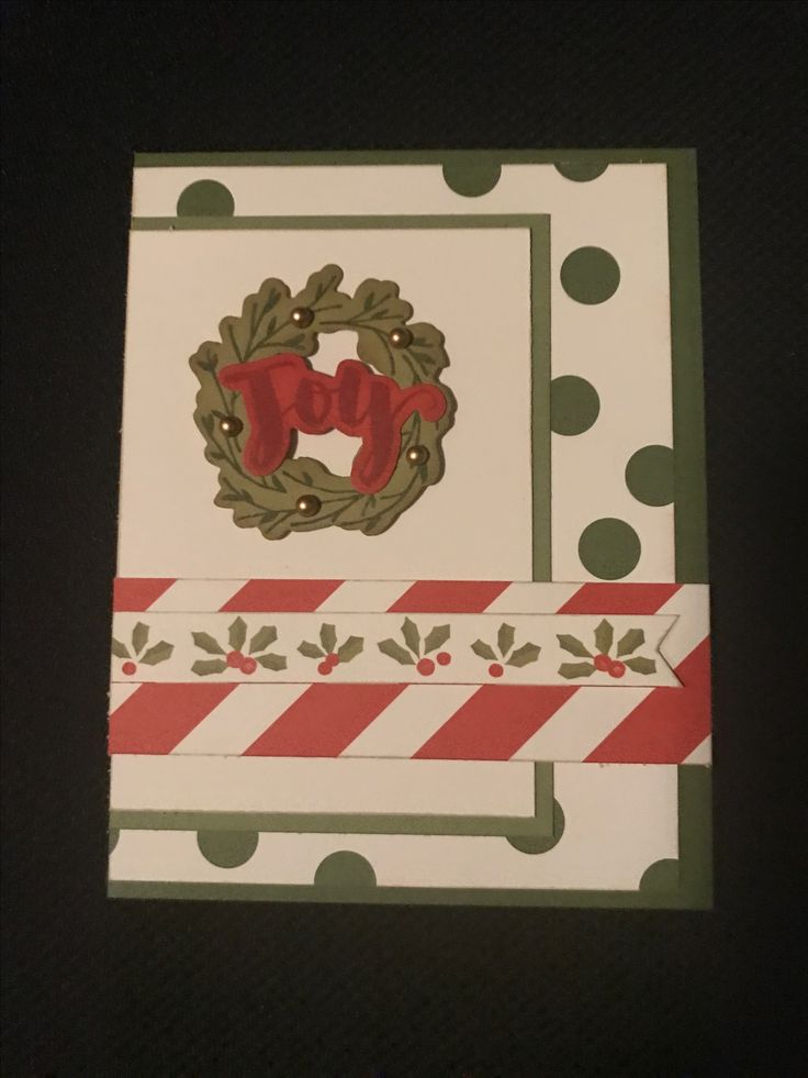 Papers from Beary Christmas, Adventure & Enchantment along with the Beary Christmas cardmaking stamps & die cuts & my Christmas card collection continues to grow. I used Almond ink on all the edges & added Gold pearls to the wreath to round out this card.