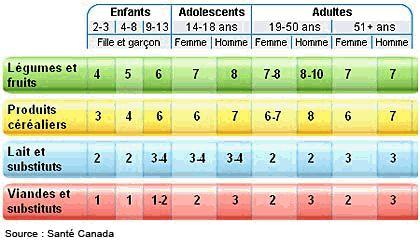 Guide alimentaire canadien : les fondements