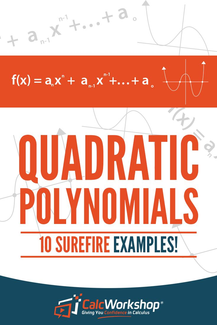 Quadratic Polynomials - POWERFUL video lesson on analyzing all the features of polynomial functions.  With 10 examples, you'll have everything you need to score well in your next quiz or test.  Terrific for new teachers too.  Excellent topic for high school and middle school math courses.  Find out about end behavior, axis of symmetry, real zeros, and more. #homeschooling #math