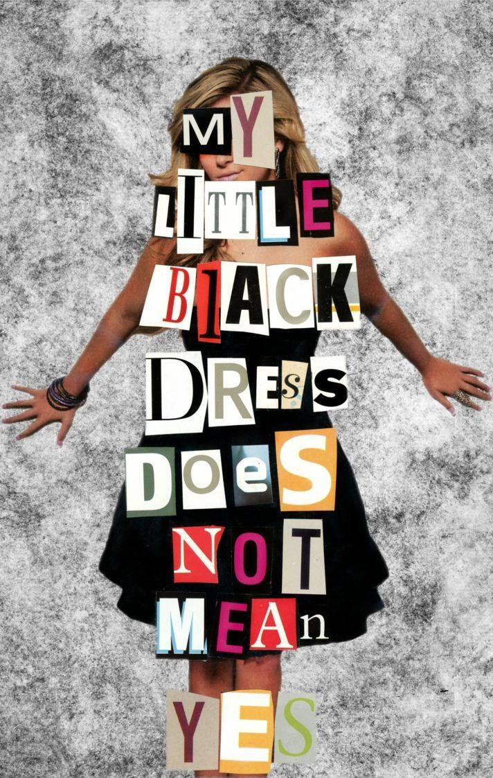 Clothing made my little black dress does not mean yes see movies the