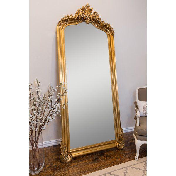 Blenheim Leaner Traditional Beveled Full Length Mirror Floor Length Mirror Full Length Mirror Leaner Mirror Ornate full length mirror