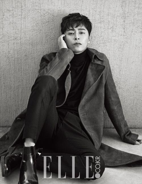 Jo Jung Seok - Elle Magazine March Issue '16