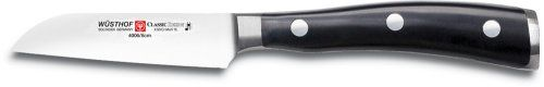 Wusthof Classic Ikon 3Inch Straight Paring Knife Black -- You can find out more details at the link of the image.