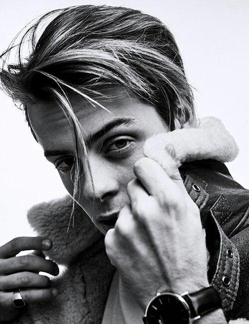Herman Tømmeraas handsome young man character inspiration