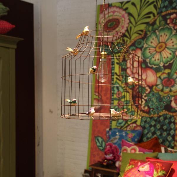 hanglamp vogels slaapkamer