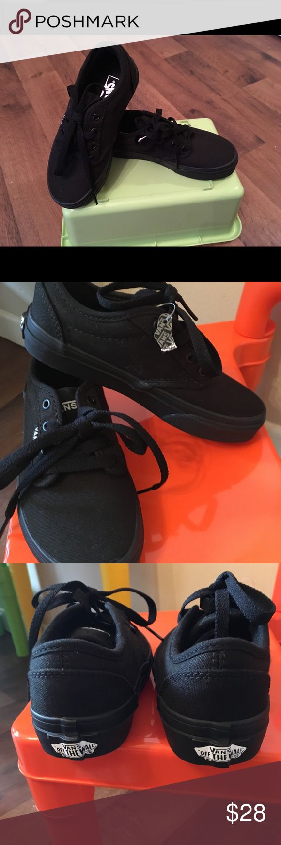 NWT Vans youth size 12.5 for girl or boy Great deal!! Super cool shoes Vans Shoes Sneakers