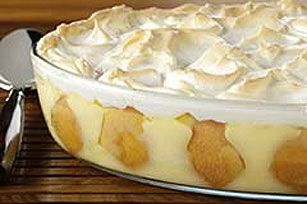 Meringue-Topped Southern Banana Pudding---I Made This For Our Christmas Meal This Year and, I Must Say, This Is, Perhaps, The BEST Banana Pudding Recipe I Have Every Used....Too Delicious For Words...And You WILL Go Back For More!!
