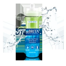 Get great-tasting water on the go, without the cost and waste of bottled water. The reusable Brita® Bottle filters ordinary water as you drink, to make tap water taste great anywhere. It's BPA-free, dishwasher safe (top rack) and recyclable.