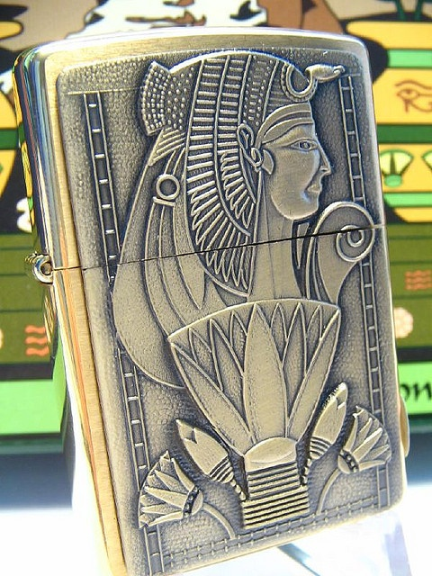 Tomb of Egypt Zippo Lighter- I have wanted a zippo lighter for so long. This one is perfect!