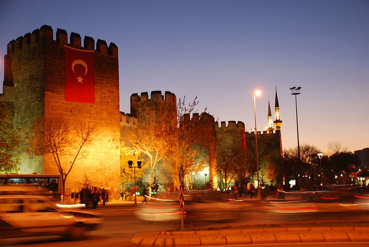 kayseri castle turkey