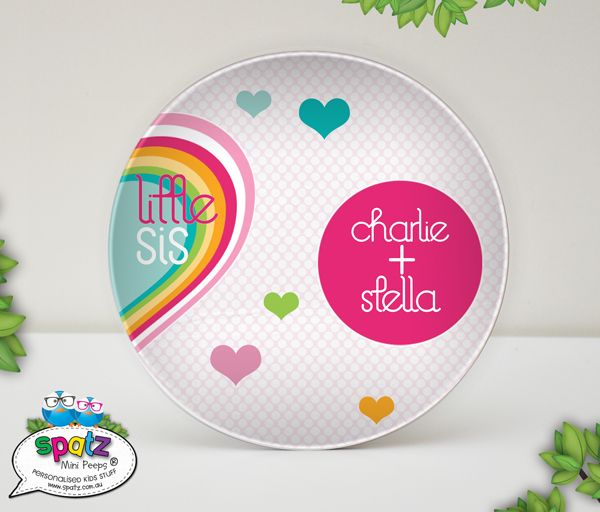 Personalised Melamine Plastic Kids Plate Baby Gifts + Keepsakes Dinner Time Eat. Drink. Play. Clean For Eating + Drinking Gifts Stuff For Kids & 29 best Kids Dinner Sets - Personalised Kids Stuff images on ...