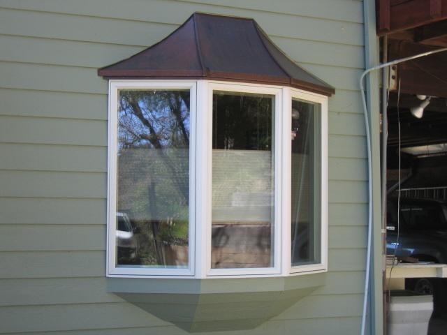 Copper Bay Window Cap By BZ Builders Santacruzconstructionguildus