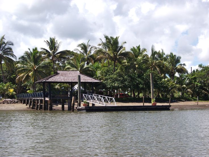 #Travel: #Sonaisali Island Resort, #Fiji.  The island landing dock.  Photo Credit: Dawne Rudman