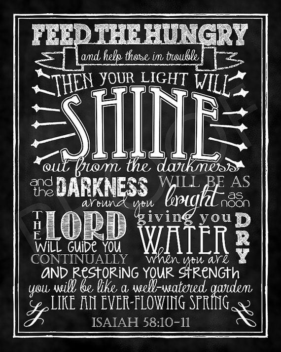 Mounted Scripture Chalkboard Art  Isaiah by ToSuchAsTheseDesigns, $15.00