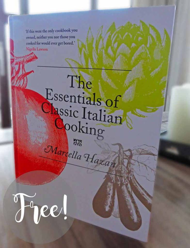 Freebies: The Essentials of Classic Italian Cooking Book